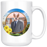 Harry Australian Cattle Dog Mugs - The Green Gypsie