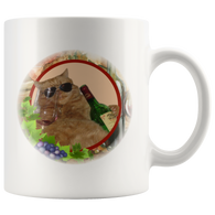 Kitty Cat Mug - The Green Gypsie