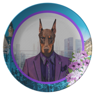 Prince Doberman Plate - The Green Gypsie