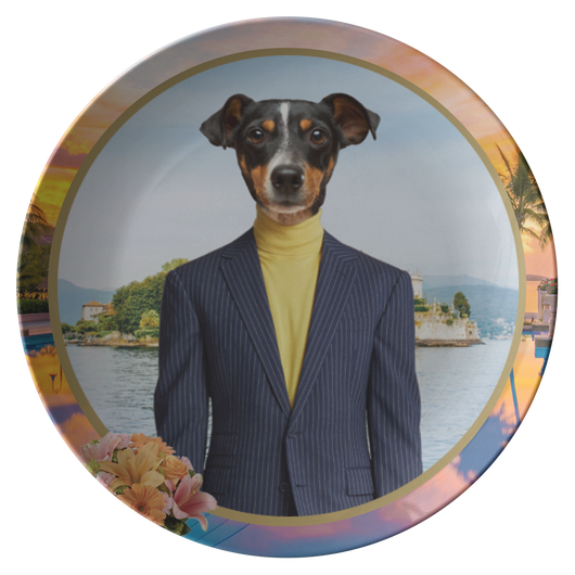 Victor Terrier Plate - The Green Gypsie