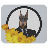 Duke Doberman Business Mouse Pad - The Green Gypsie