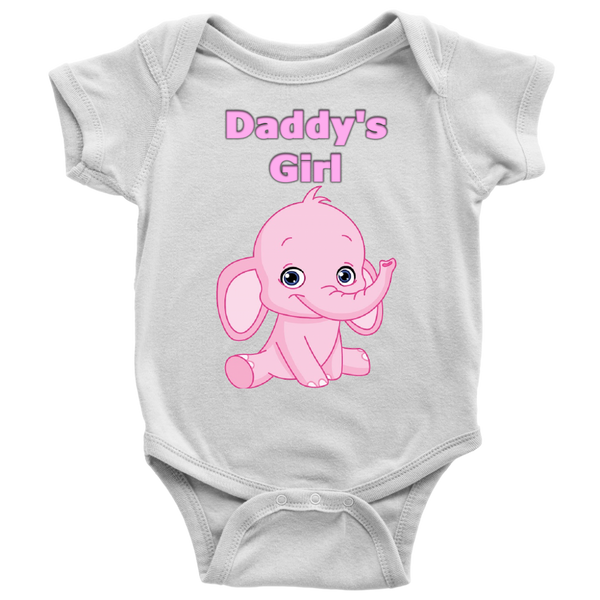 Daddy's Girl Elephant Onesie - The Green Gypsie