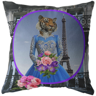 Trixie Tigress Pillow - The Green Gypsie