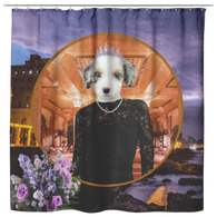 Holly Australian Shepherd Shower Curtain - The Green Gypsie