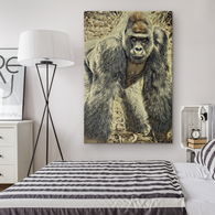 Alexander Ape Rectangle Canvas - The Green Gypsie