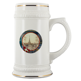 Vintage Eiffel Tower Beer Stein