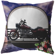 Harley Motorcycle Pillow - The Green Gypsie