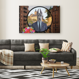 Frederick Great Dane Rectangle Canvas - The Green Gypsie