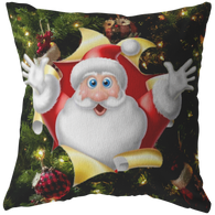 Santa Tree Pillow - The Green Gypsie