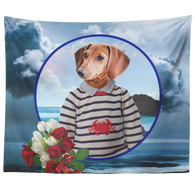 Donny Dachshund Tapestry - The Green Gypsie