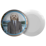 Hunter Havanese Plate - The Green Gypsie