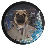 Pugsley City Pug Plate - The Green Gypsie