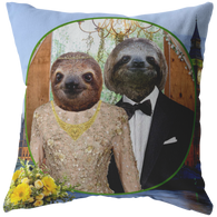 Rory & Logan Sloth Pillow - The Green Gypsie
