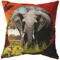 Emma Elephant Pillow - The Green Gypsie