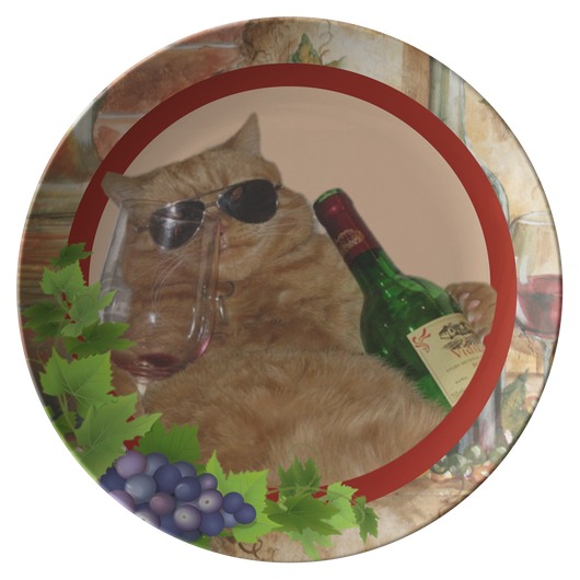 Kitty Cat Plate - The Green Gypsie