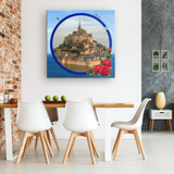 Mont Saint-Michel Canvas - The Green Gypsie