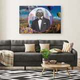 Logan Sloth Rectangle Canvas - The Green Gypsie