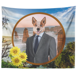 Harry Australian Cattle Dog Tapestry