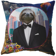 Logan Sloth Pillow - The Green Gypsie