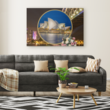 Australia Rectangle Canvas