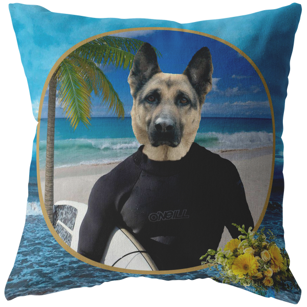 Gizmo German Shepherd Pillow