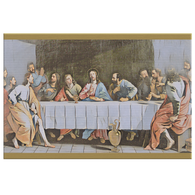 Last Supper Art Canvas - The Green Gypsie