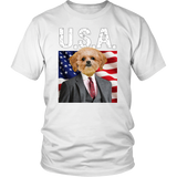 Ollie Shih Tzu T Shirt - The Green Gypsie