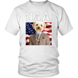 Benji Yorkshire Terrier USA Unisex T Shirt - The Green Gypsie