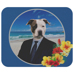 Peter Bull Terrier Mousepad