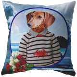 Donny Dachshund Pillow - The Green Gypsie