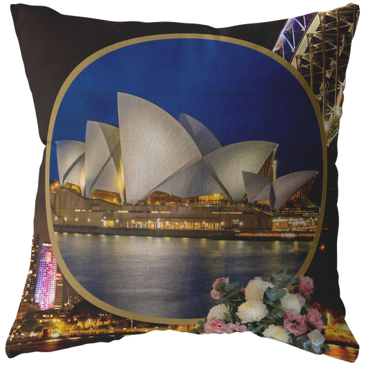 Australia Pillow - The Green Gypsie