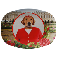 GiGi Golden Retriever Platter - The Green Gypsie