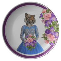 Trixie Tigress Plate - The Green Gypsie