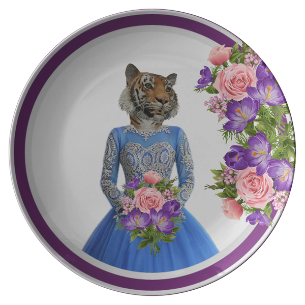 Trixie Tigress Plate