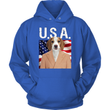William Beagle USA Hoodie - The Green Gypsie