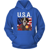 Piper Pointer USA Hoodie - The Green Gypsie