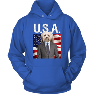 Hunter Havanese USA Hoodie - The Green Gypsie