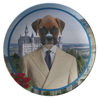 Bruno Boxer Plate - The Green Gypsie