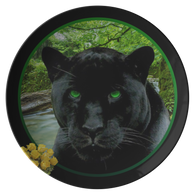 Thor Black Jaguar Plate - The Green Gypsie