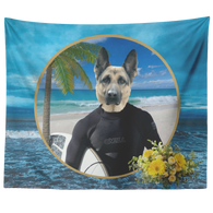 Gizmo German Shepherd Tapestry - The Green Gypsie