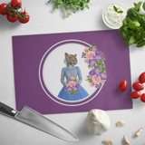 Trixie Tigress Cutting Board