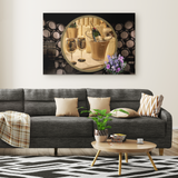 Champagne Rectangle Canvas - The Green Gypsie