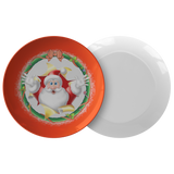Santa Holiday Plate - The Green Gypsie