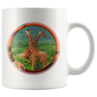 Lucy & Ricky Giraffe Mug - The Green Gypsie