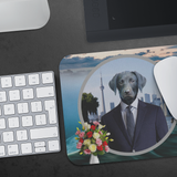 Frankie Black Labrador Mouse Pad - The Green Gypsie