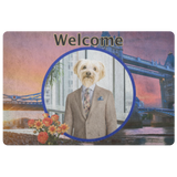 Benji Yorkshire Terrier Doormat - The Green Gypsie