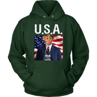 Bubba Monkey Hoodie - The Green Gypsie