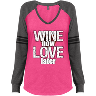 Wine Now Ladies Shirt - The Green Gypsie