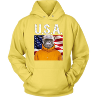 Chip Monkey USA Hoodie - The Green Gypsie