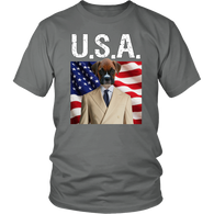Bruno Boxer USA Unisex T Shirt - The Green Gypsie